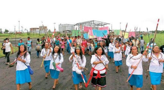 Protesters occupy Pluspetrol airfield in northern Peru