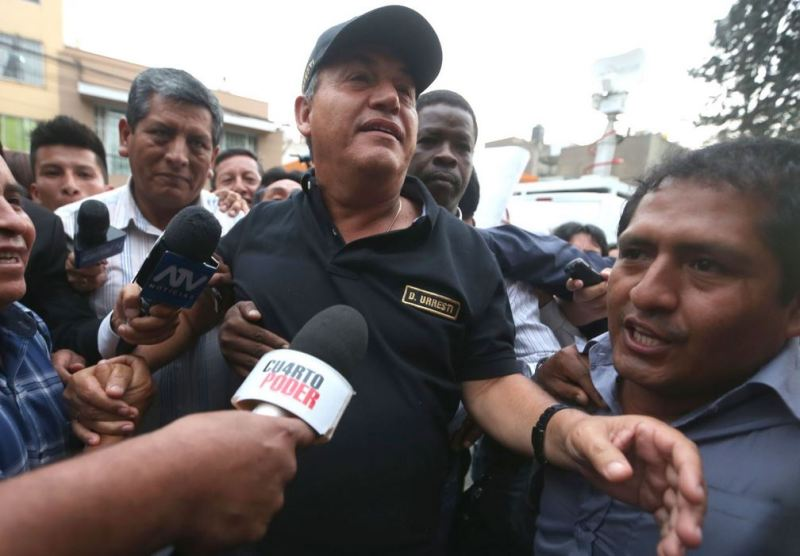 Peru's former interior minister indicted for murder