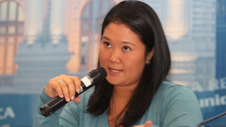 Keiko Fujimori leads presidential candidates: poll