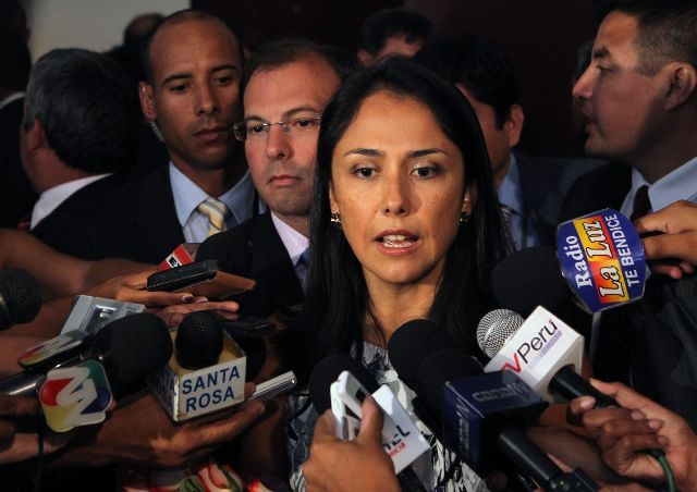 Nadine Heredia mired in corruption charges