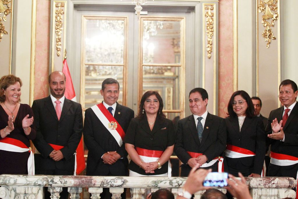 Peru's President shuffles cabinet amid lowest approval to date