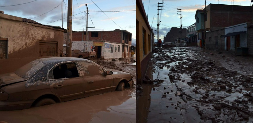 Torrential rains wreak havoc throughout Peru