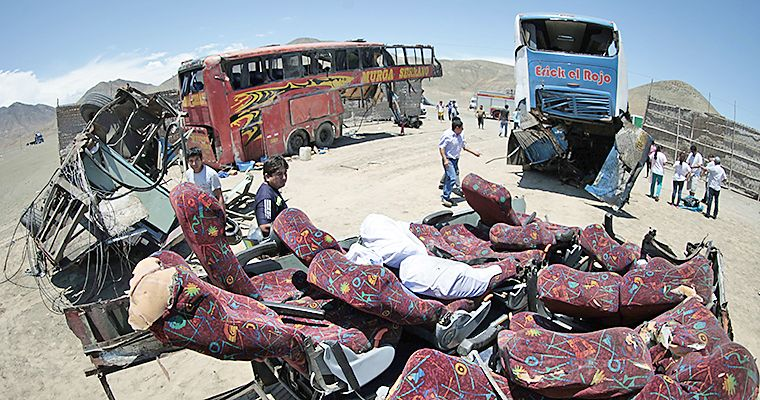 38 dead after bus accident in northern Peru