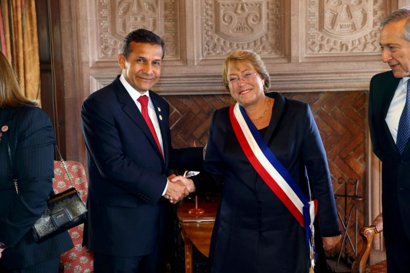 Chile admits espionage against Peru