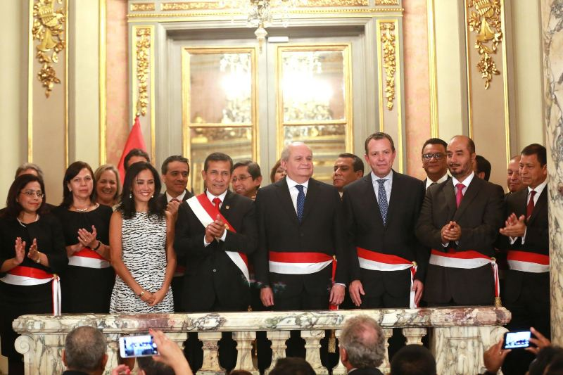 Humala names new cabinet pending congressional approval