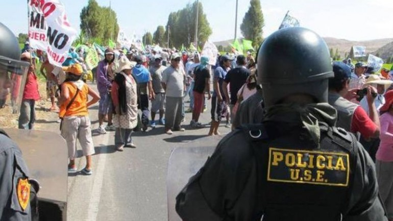 Government to make case for copper mine to Arequipa protesters