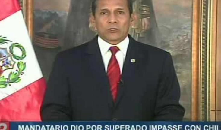 Humala accepts Chile's apology, returns ambassador