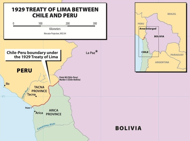 Peru's role in the Bolivia-Chile land dispute