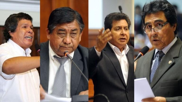 Four congressmen suspended in one week