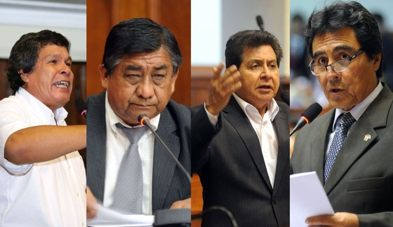 Four congressmen suspended in one week