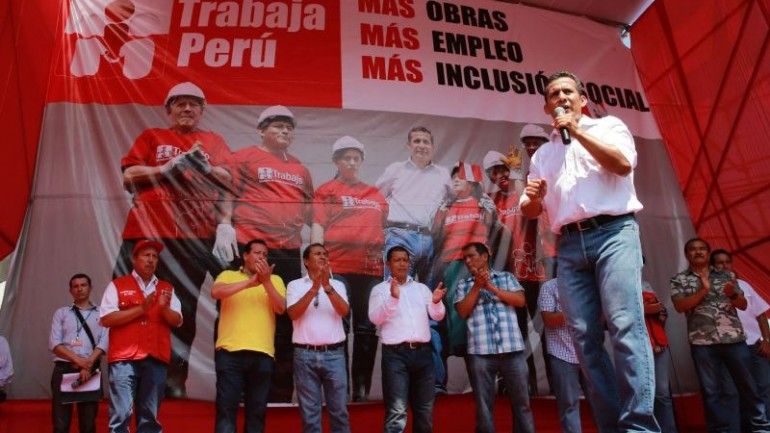 Humala to request decree powers to address economy, crime