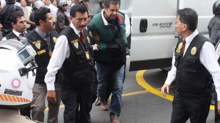 Martin Belaunde jailed in Lima