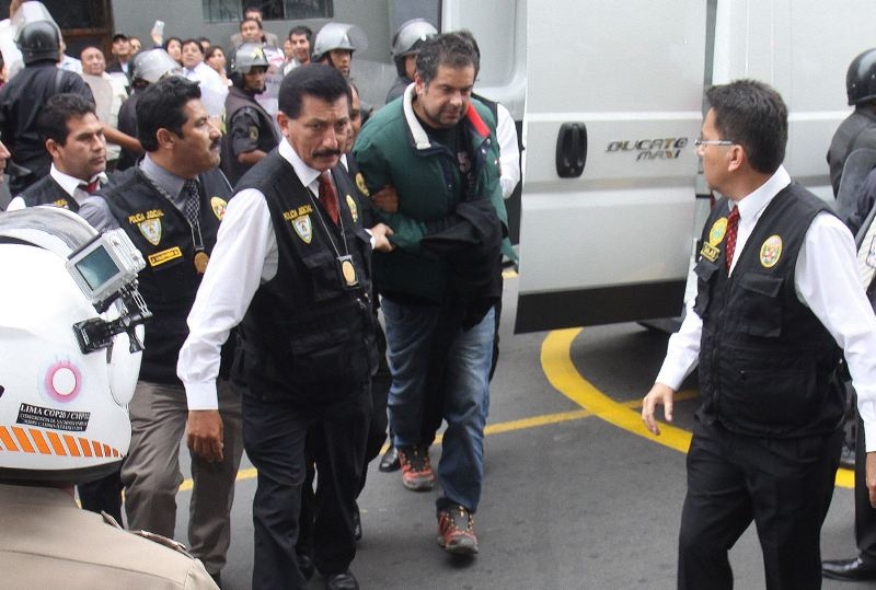 Martin Belaunde jailed in Lima