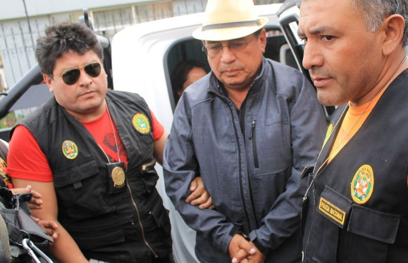 Facing prison, Pepe Julio Gutierrez isolated from Tia Maria opposition