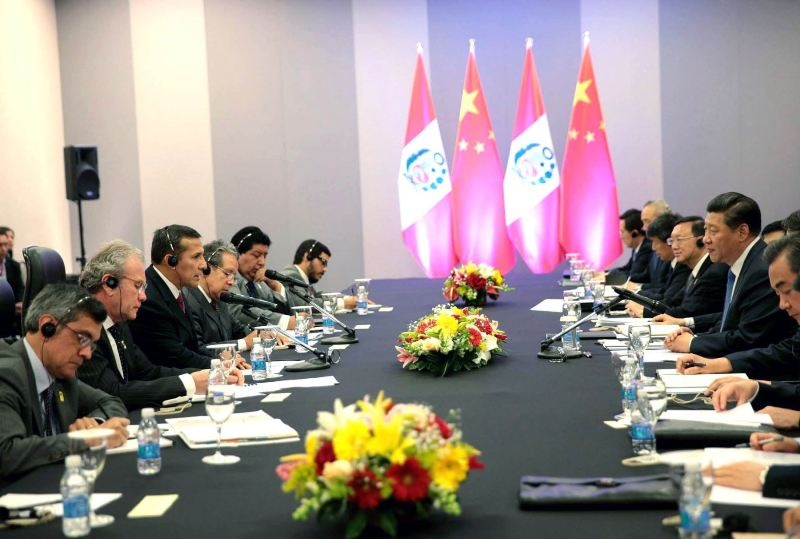 Chinese premier to negotiate continental railway in Peru