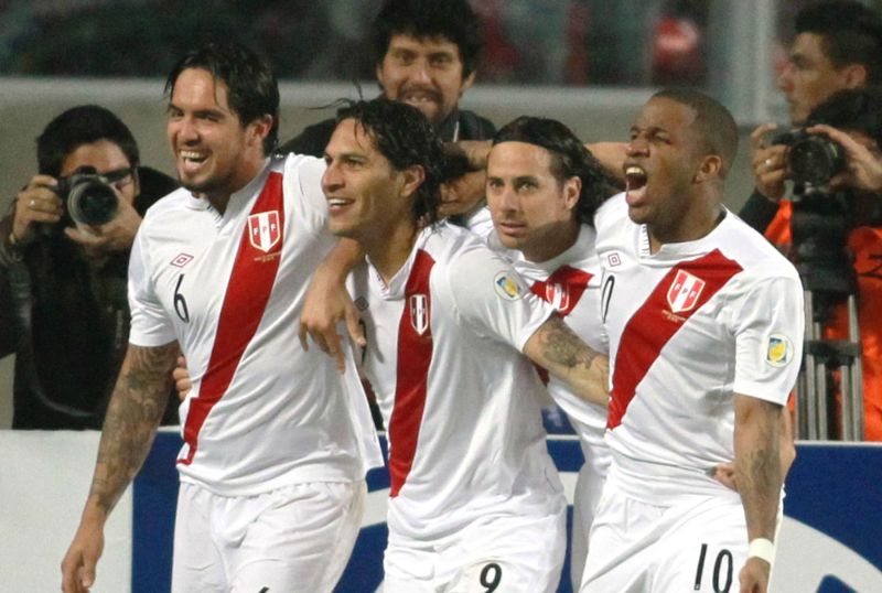 bb2188e5062 Peru s national soccer team selected for 2015 Copa America