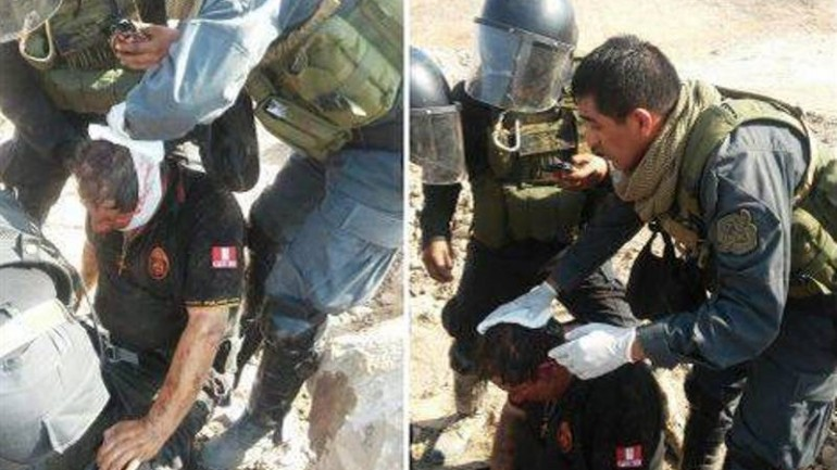 Army deployed to Arequipa after protesters kill police officer