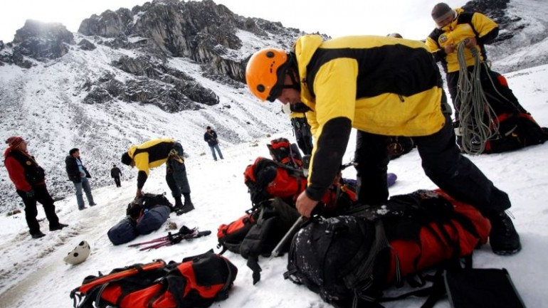 Three Estonian mountain climbers perish in Ancash