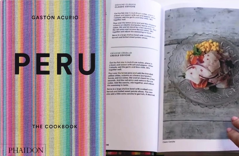 Gaston Acurio publishes book of Peruvian recipes