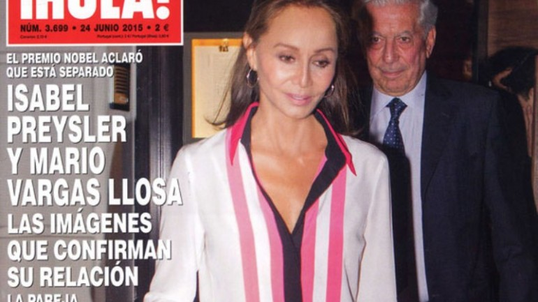 Mario Vargas Llosa leaves wife for Isabel Preysler