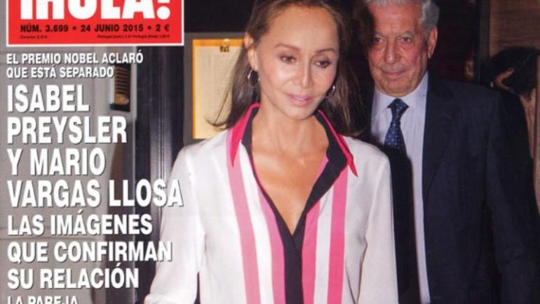 Mario Vargas Llosa leaves wife for Isabel Preysler