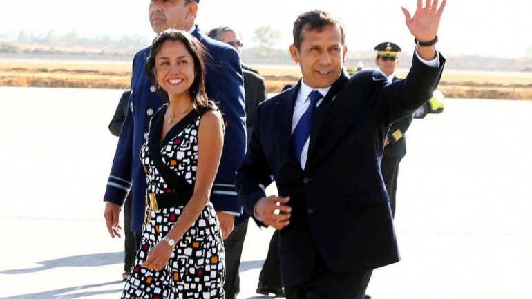 First lady drags Humala to new public approval low