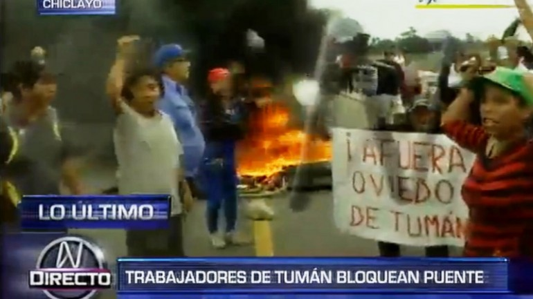 As prosecutors investigate Oviedo, Lambayeque protests continue