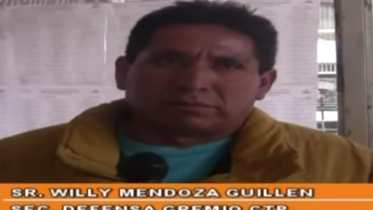 Union leader assassinated near Lima