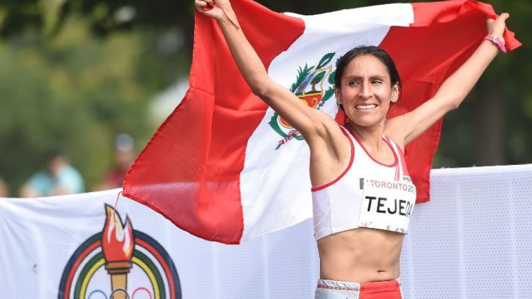 Peruvian marathoner wins gold at Pan Am Games