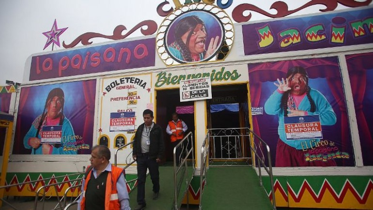 13 injured in extortion gang's grenade attack at Lima circus