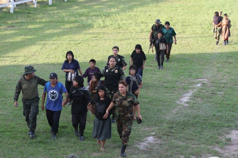 Peru rescues 39 slaves from Shining Path 'production camp'