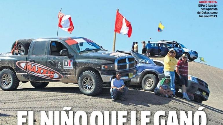 Peru withdraws from 2016 Dakar Rally on El Niño concerns