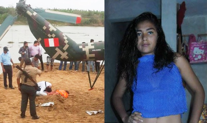 Military helicopter rotor kills woman in northern Peru