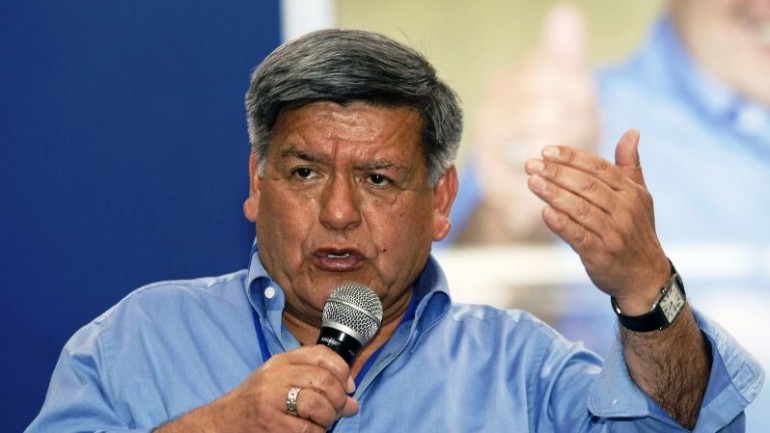 Presidential candidate calls for army to patrol Peru's streets