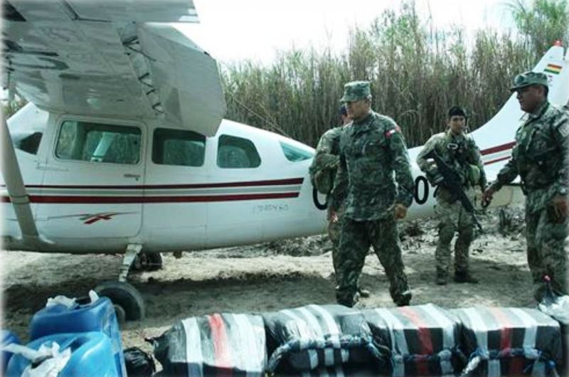 Peru approves law to shoot down drug planes
