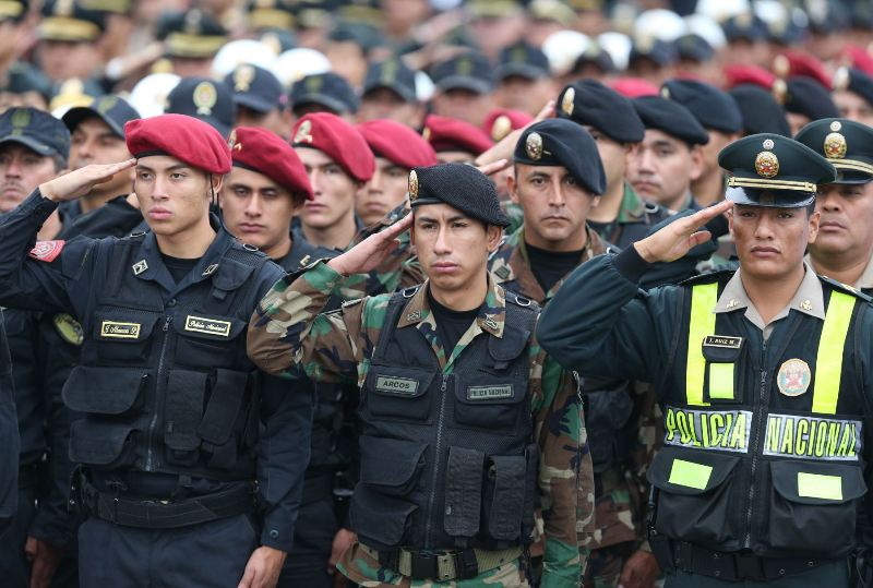 Lima police launch 'mega-operations' to battle rising crime