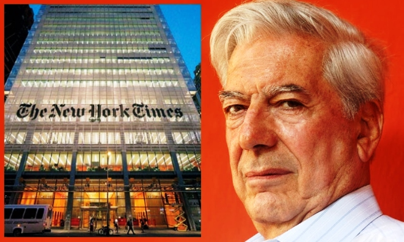 Mario Vargas Llosa forces retraction from New York Times