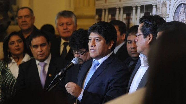 Political posturing as Peru's congress rejects changing oil license