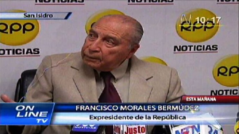 Peru dictator Francisco Morales charged with 1978 kidnapping