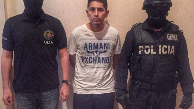 Peru drug baron Gerald Oropeza arrested in Ecuador