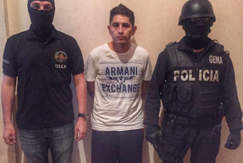 Peru drug baron Gerald Oropeza arrested in Ecuador