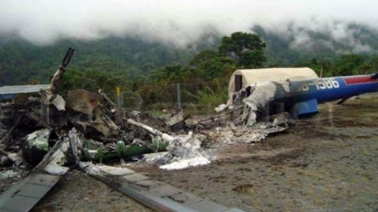 Five killed in central Peru helicopter accident