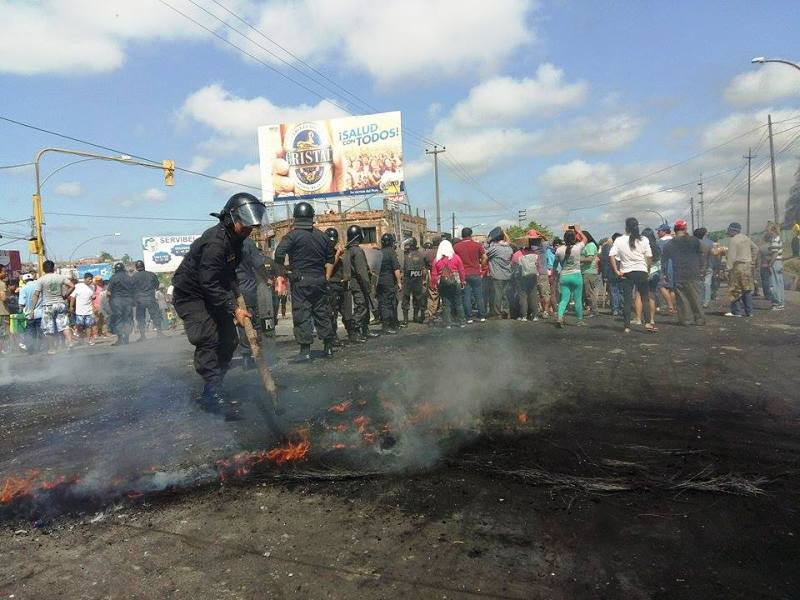 Protests against oil companies throughout northern Peru