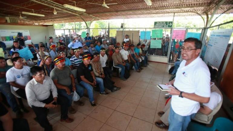 Native protesters end occupation of key oil block in Peru