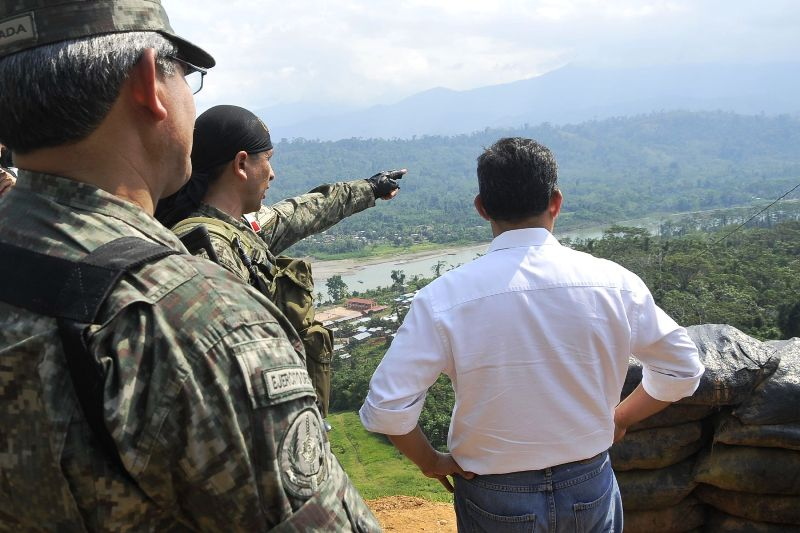 Peru's government touts security gains in coca-producing region