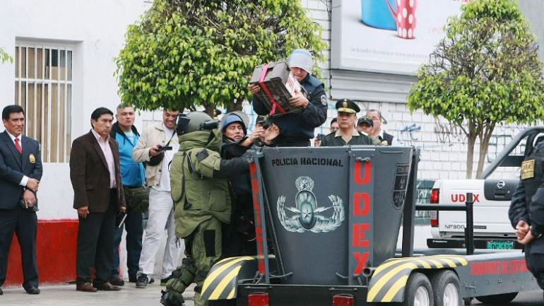 Peru moves to curb illegal supply of grenades