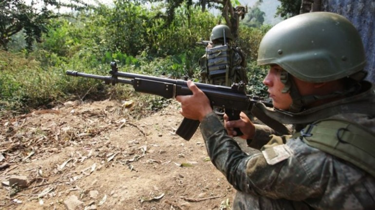 Peru's army kills six Shining Path rebels