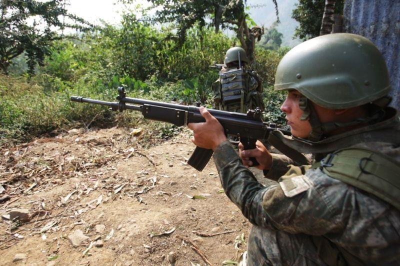 Peru's army kills six Shining Path rebels