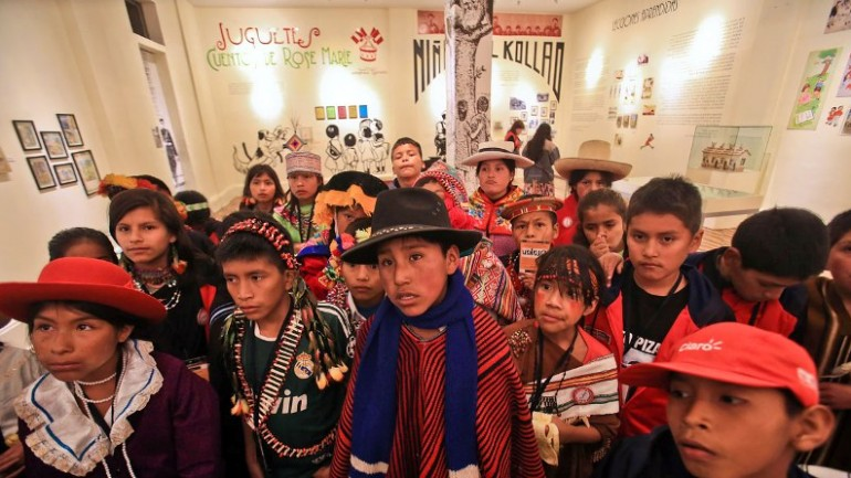 Peru holds ethnic diversity conference for children