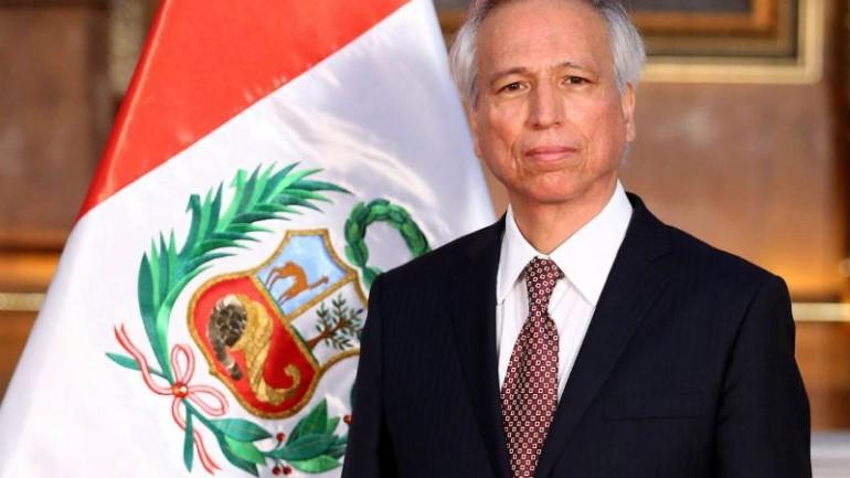 Aldo Vasquez sworn in as Peru's new justice minister